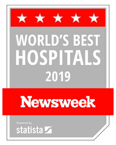 Worlds best hospital by Newsweek