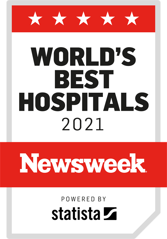 Worlds best hospital 2021 by Newsweek