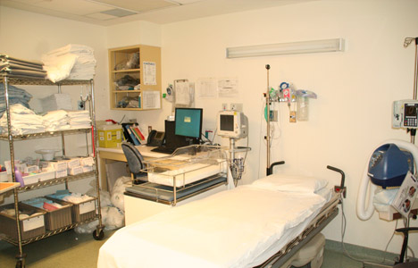 recovery room in Childbirth unit